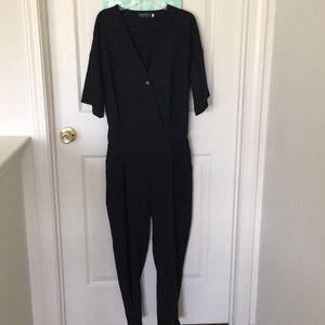 Pants - Black jumpsuit; size medium